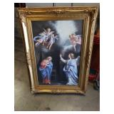 Religious painting on canvas