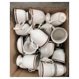 Box of mugs