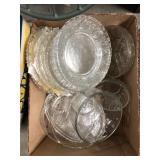 Box of glassware
