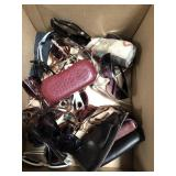 Box of sunglasses and cases