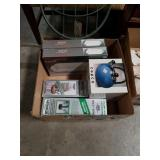 Box of thermoses and bakeware