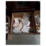 Box of household hardware