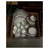 Box of mikasa  Dish set