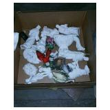 Box of figurines