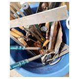 Bucket full  of  tools