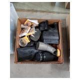Box of camera and accessories