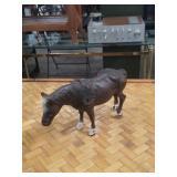 Metal horse bank