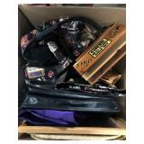 Box with misc purses etc