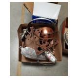 Box of metal pieces