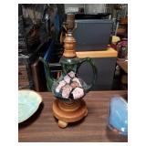 Tea kettle table lamp
