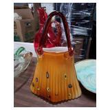 Murano glass purse