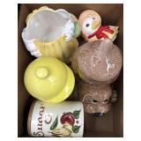 Box of cookie jars