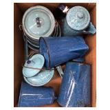 Box of kitchen ware