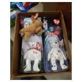Box of Beanie babies
