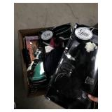 Box of doll clothes, barbie