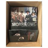 box of Morricine book etc
