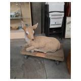Cement deer