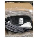 Box with electronic pump air mattress
