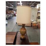 Ceramic Asian lamp