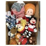 Box of dolls