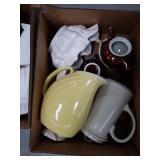 Box of pottery