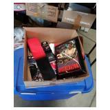Box of Dale memorabilia