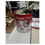 Canister full of flour sifters