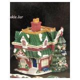 Spode Christmas tree village in box