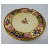Lot of 12 Royal Venton ware floral plates
