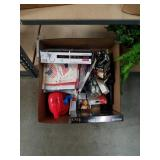 Box of hardware and miscellaneous
