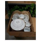 Box of sango elegance china