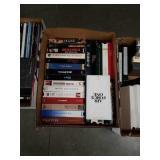 Box of VHS movies