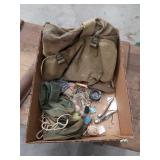 U S Army  bag with contents
