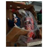 Box of Asian dolls