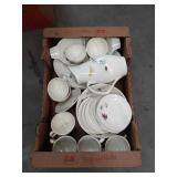 Box of Franciscan ware