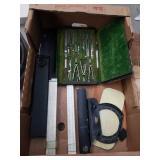 Box of drafting tools
