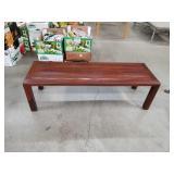 Rosewood Asian bench
