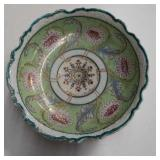 Antique  hAnd painted bowl