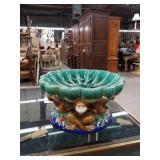 Pottery monkey centerpiece