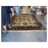 8 by 10 handmade floral rug