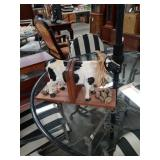Cow book ends