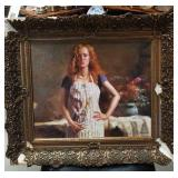 """oil painting on board signed pino/ 21"""" by 18"""""""