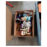 Box of skull cups & More