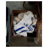 Box 0f  slippers and shirts