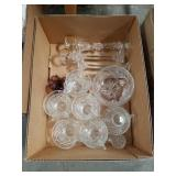 Box of crystal and glass