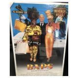 Baps framed movie poster, Halle berry