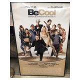 Be cool framed movie poster