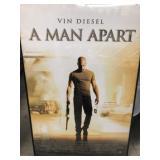 A man apart framed movie poster, vin diesel