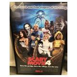 Scary movie 4 framed movie poster