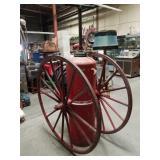 Antique foammite wooden wheel chem